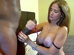 Super Hot milf interracial fuck with black sausage