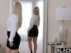 BLACKED Sizzling Nympho Cant Keep Her Hands Off The Bbc