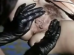 Vintage Lesbians Licking Sexy Black Boots And Juicy Cootchies