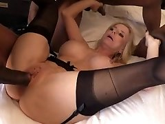 Granny Cammille gets explosions of black jizz inwards her cunt and