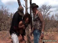 extreme safari fuckfest fetish orgy