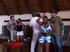 african amateur girl gang sex part 1
