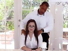 TLBC - Sexy Secretary Fucked By Boss In Bootie