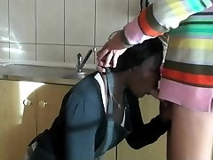 Black Maid Humped By Her Boss