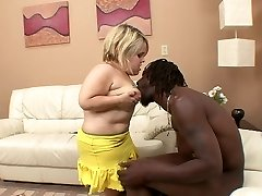 Stella takes on a hefty black schlong 01