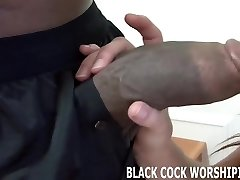 His huge black cock fills me up completely
