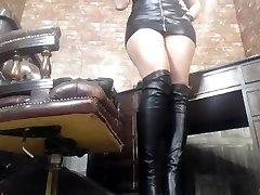 Ruby Ryder - Black Boty sezení