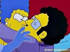 Pornô Simpsons - Marge e Artie afterparty