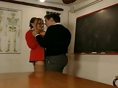Gorgeous doll tutor is blackmailed by student