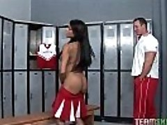 stunning nubile Rihanna gets her dark-hued pussy pulverized hard by her teacher