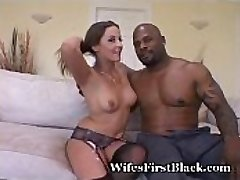 Spinner Wife Gulps Down Black