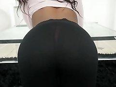 TeenyBlack - Hot Ebony Gf Porked While Studying