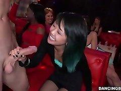 Young Asian Woman deepthroats Stripper