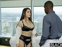 BLACKED Sexy Italian Babe Valentina Nappi Analingus Black Man
