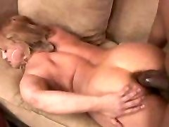 Round mature Wife gets her first big black cock in her tight ass hole...F70