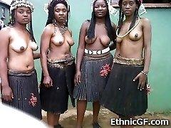 Real African Teen Girlfriends!