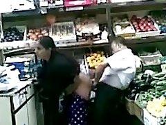 Joy at a desi supermarket