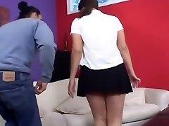 Carmella Spunked On Her White-hot Buttocks