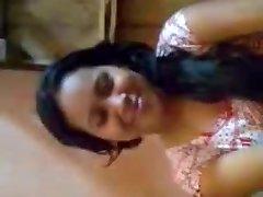 Desi Nymph Boobs Pressed By Boyfriend