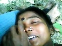 Indian Couple Having Intercourse Outdoors