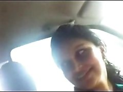 Desi Office Girlfriend with Manager in truck