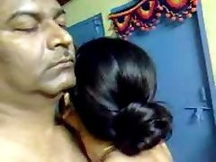 Stunning Homemade Indian Mature Hairy Couple Have Impressive Sex
