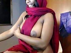 indijski djevojka zadirkuje masturbacija na