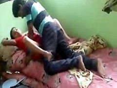 Real desi bhabhi smashed by her devar privately at home