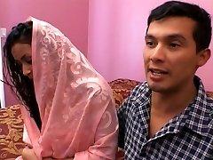Hot indian stunner gang-banged