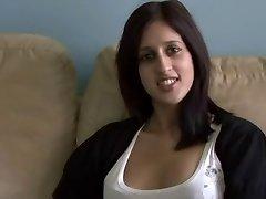 Pakistani Zarina Masood Sucks Bangs and Frosted