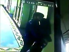 Actor Simbu Kissing Harshika  Caught on Web Cam