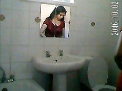 Indian lady shower spy