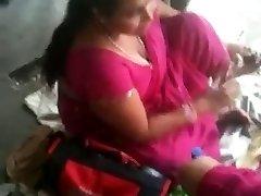 Buxomy Indian MILF on a Instruct Station 2 (o) (o)