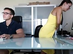 Boss And Secratary Full Fucking Display In Office