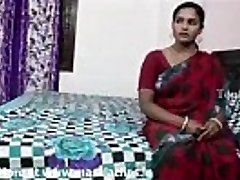 Big boobs indian aunty in crimson saree banged by neighbour fellow..and  record her