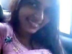 Desi Payal Sharma Ample Boobs bachi Cock Suck Blowjob in Car
