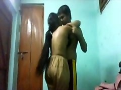 College college girls lovers at home