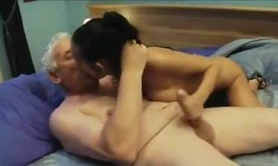 Indian nymph fucked nicely by an Older guy