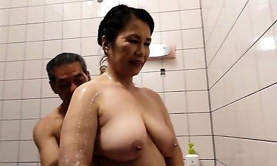 Hairy Pussy Japanese Grandmother Michiko Okawa