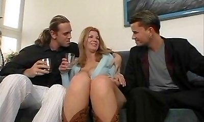 Susanne - Mom poked by 2 young guys