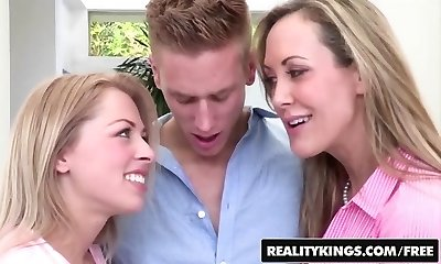 Reality Kings - Brandi Enjoy and Zoey Monroe - mom and daughter-in-law share