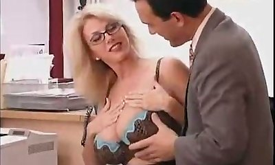Large Titted Mom with her Boss...F70
