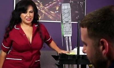 50+ Cougar Victoria Versaci  Maid Works For Bang-out