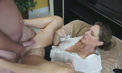 Busty Mom Showcases Him Her Enormous Tits And Tight Pussy