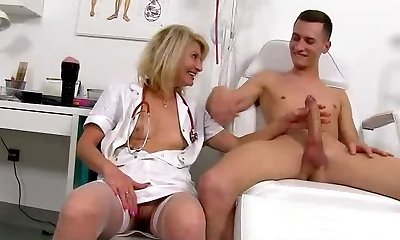CFNM uniform medical fetish with female Ivona