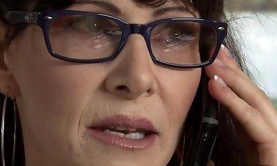 Hottest pornstar Alexandra Silk in horny brazilian, facial cumshot porn scene