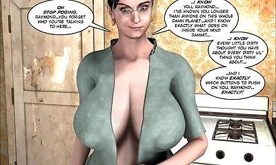 3D Comic: Raymond. Episodes 3-6
