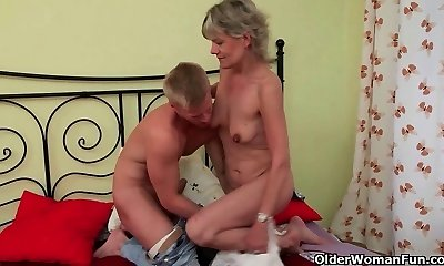 Mother is here to help you gargle your load