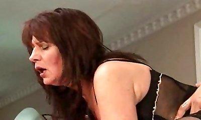 Jaroslava Diana Faucet hairy Cougar MATURE STOCKING AND Heels troia