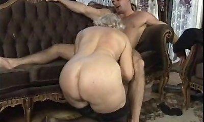 German Grandma Orgy